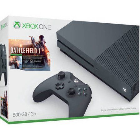 Free 2-day shipping. Buy Xbox One S Battlefield 1 Special Edition Bundle, Storm Grey (500GB) at Walmart.com