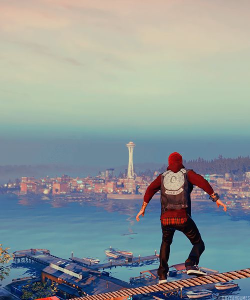 From what i can see of Delsin's outfit in all the images (havent played and seen for myself) I love the neutral outfit and this evil outfit :)