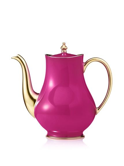 Haviland Laque de Chine 50.7-Oz. Coffee Pot, Aubergine at MYHABIT