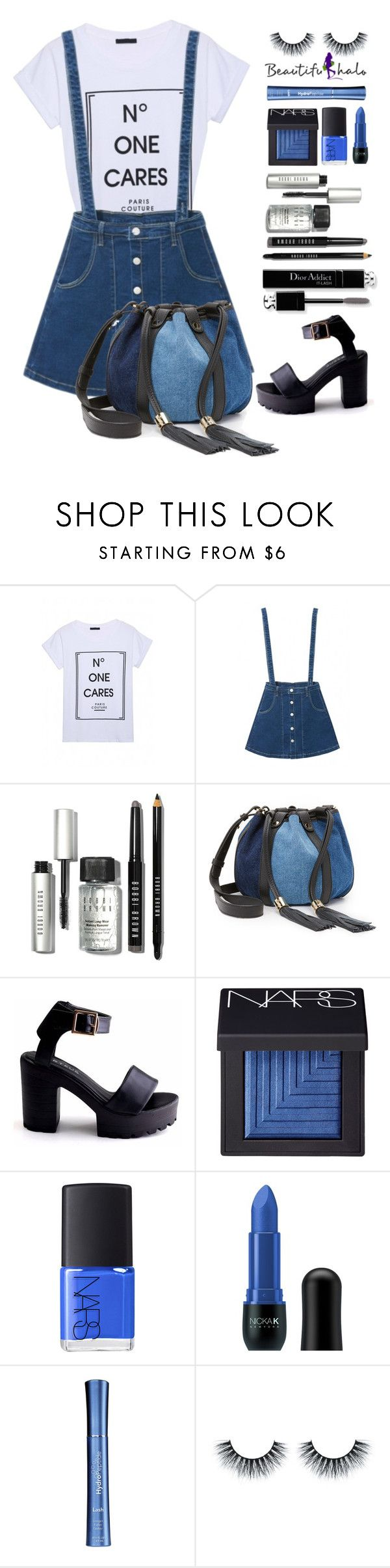 """beautifulhalo.com 20"" by meyli-meyli ❤ liked on Polyvore featuring Bobbi Brown Cosmetics, See by Chloé, Christian Dior, NARS Cosmetics, Nicka K, HydroPeptide, women's clothing, women, female and woman"