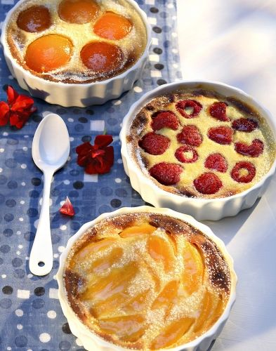 Clafoutis aux fruits