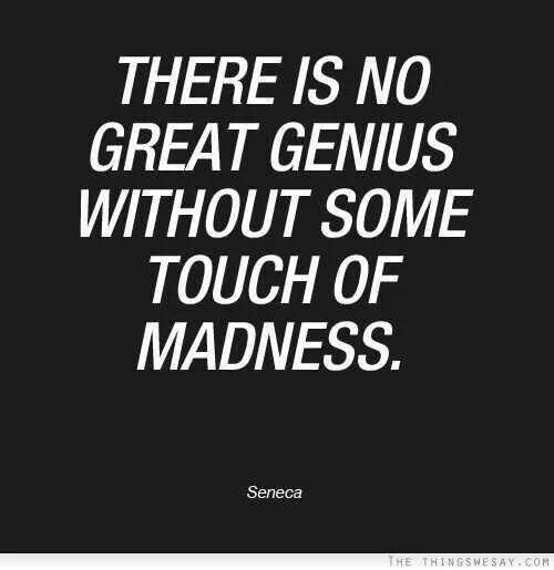 Pinterest Crazy Quotes: Genius Quote/crazy Runs In My Family
