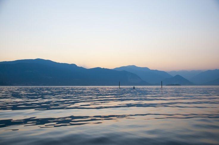 A beautiful sea of the lake