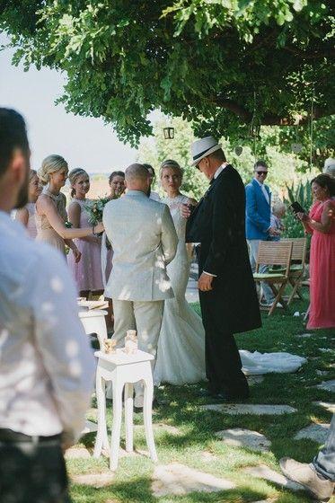 Garden wedding in private villa | Crete for Love