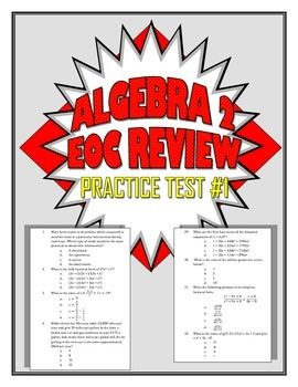Common Core Algebra 2/Integrated 3 Practice Test