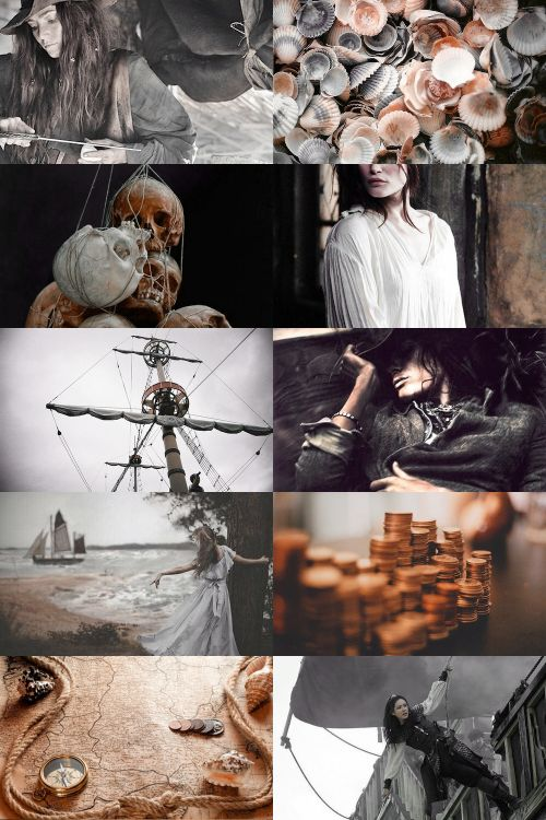 pirate girl aesthetic (more here)