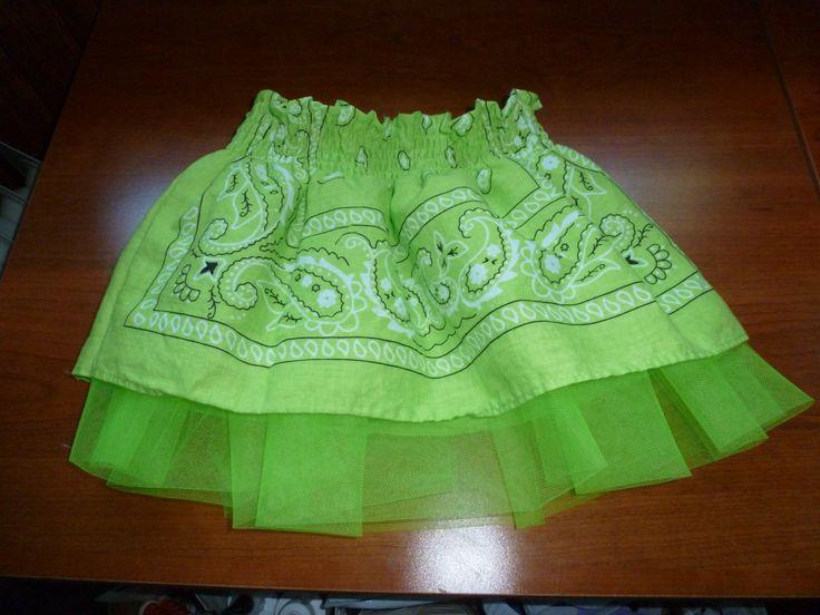"""""""R"""" 's Bandana skirt"""