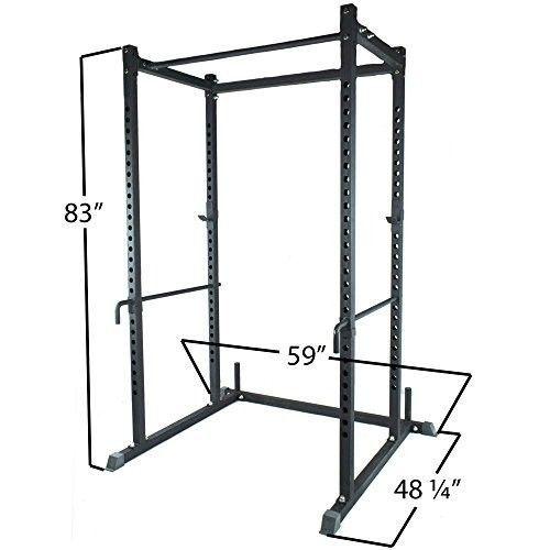 Power-Rack-Squat-Deadlift-HD-Bench-Racks-Stand-Crossfit-Pull-Up-Wod-Fitness-NEW