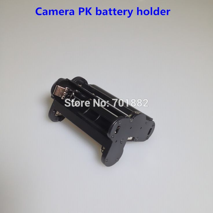 Цифровая Камера ПК Батареи Держатель Батареи Коробка Для Хранения Для Ручки-налог kr кр k30 k-30 slr кр d-bh109 Держатель Батареи