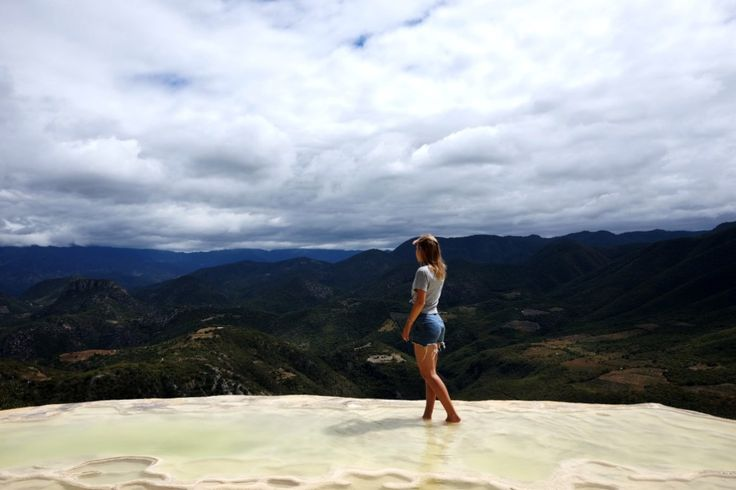 View from Hierve el Agua.