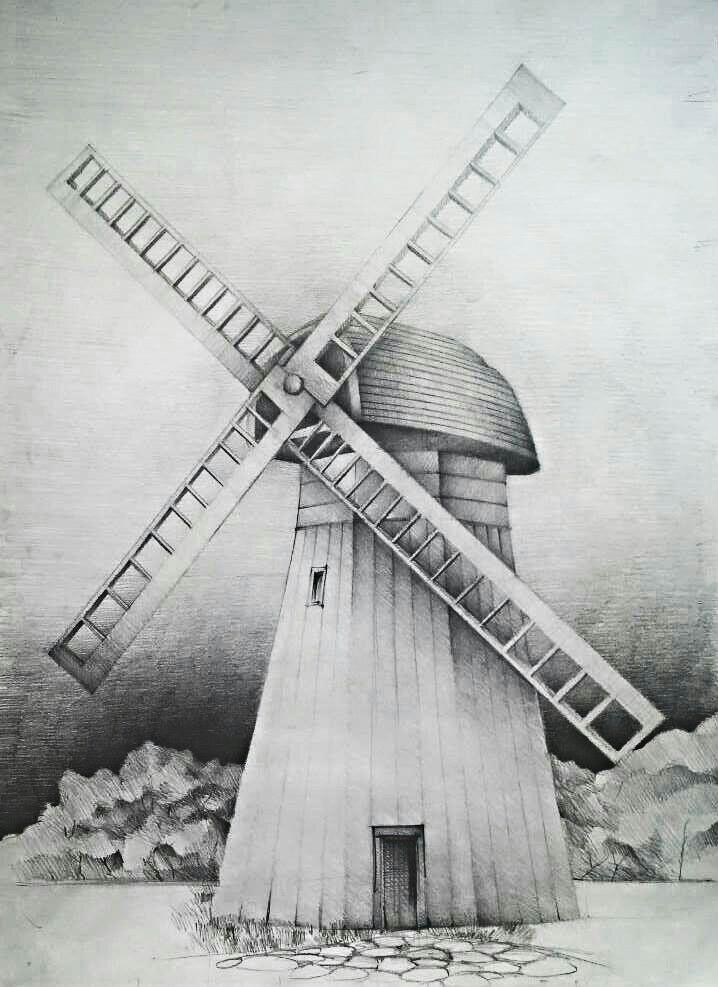 """Auf @Behance habe ich dieses Projekt gefunden: """"#3 Architecture Sketches made on 70cm x 50cm paper"""" https://www.behance.net/gallery/36440207/3-Architecture-Sketches-made-on-70cm-x-50cm-paper"""