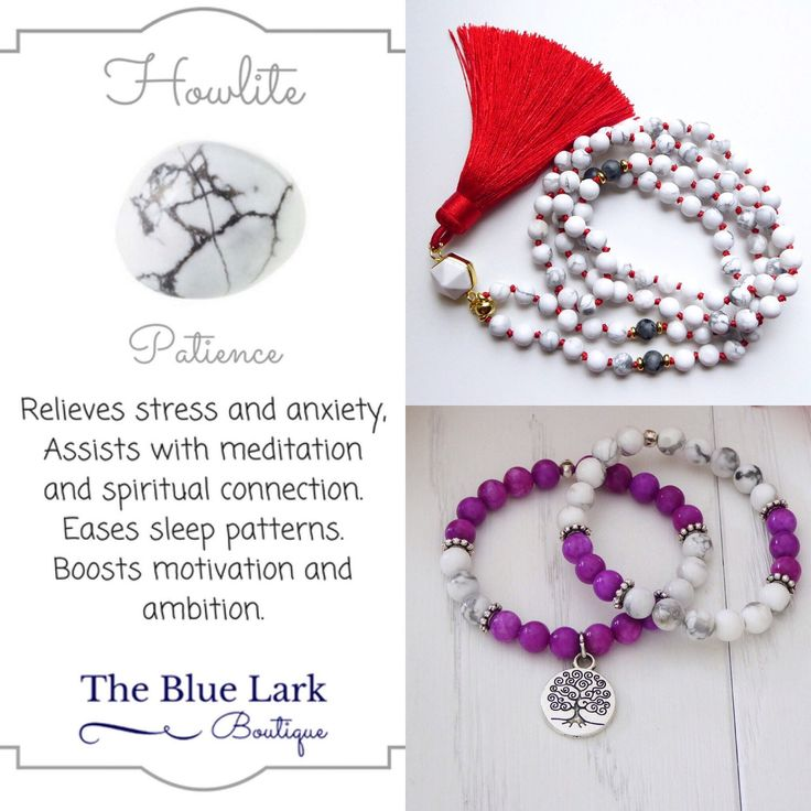 Discover tje metaphysical properties of howlite! 🕉📿🔮