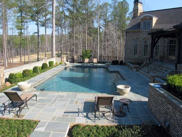 1000 Ideas About Rectangle Pool On Pinterest Backyard