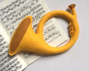 Items similar to Felt Toys, Toy Instruments, Stuffed Instruments, Toy saxophone, toy, flute, to trumpet, toy violin, Baby instruments, Baby orchestra on Etsy
