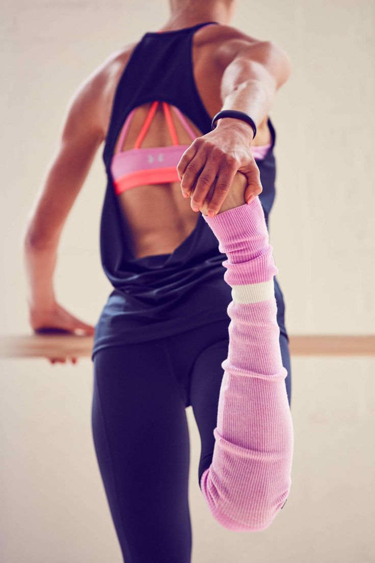 Stand out in the studio. Shop leg warmers that are perfect for layering and completing your on-pointe look.