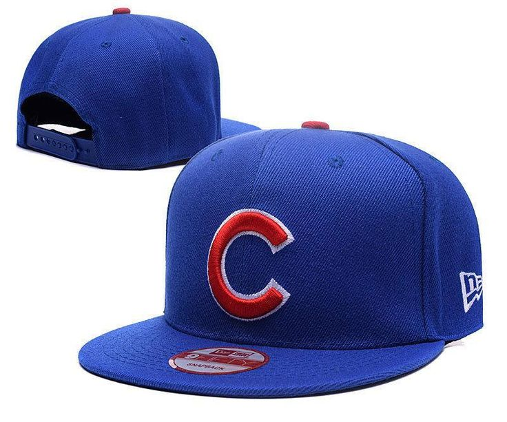 Men's Chicago Cubs New Era Team Logo C Embroidery 9FIFTY Snapback Hat - Royal Blue