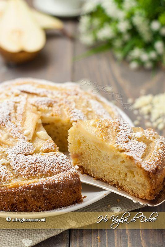 Torta di pere e cioccolato bianco - Ho Voglia di Dolce blog