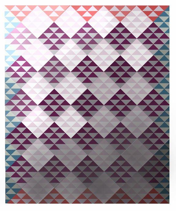 Likeflowersandbutterflies: Half square triangle quilt tutorial