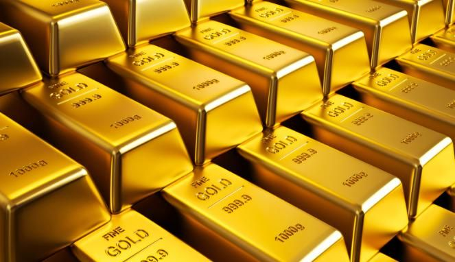 BESTPROFIT FUTURES (27/6) - Harga spot emas naik lebih dari 1 persen pada hari Senin karena mendapat guncangan dari warga Inggris untuk meninggalkan Uni