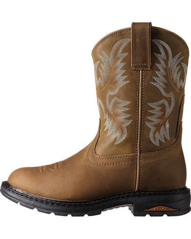 Ariat Tracey Pull-On Work Boots - Comp Toe   Sheplers