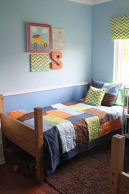 Twins Room by 3 Four and Under, via Flickr: Twins Room, Cute Boys, Boy Rooms, Big Boy Room, Boys Room, Kids Rooms