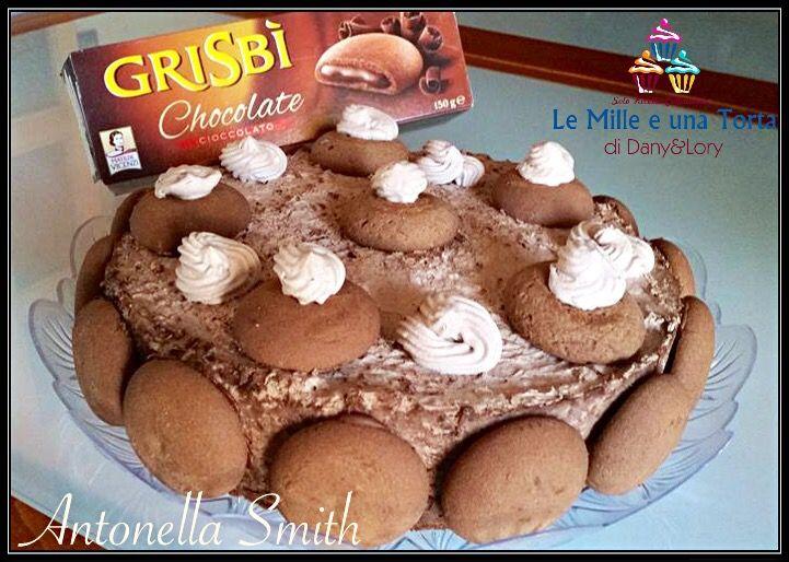 Condividi la ricetta... TORTA GRISBÌ ALLA NUTELLA RICETTA DI: ANTONELLA SMITH ingredienti per la base: 300 g di biscotti al cacao 120 g di burro per la crema: 350 ml di panna montata 250 g di …