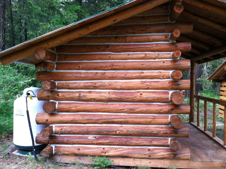 1000 images about log home stain on pinterest How to stain log cabin