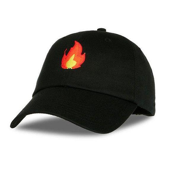 Fire Dad Hat Fire Emoji Hat Fire Baseball Hat Baseball Hats Dad Hats Womens Baseball Cap