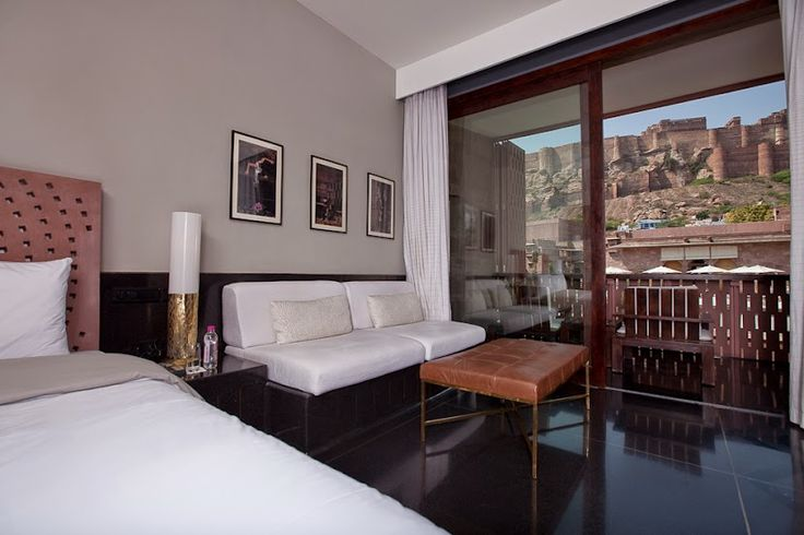 Brilliant view of the #MehrangarhFort from the super spacious rooms at #Raas #Jodhpur #Rajasthan! A perfect #RareIndia #DelhiGetaway!  #Explore More: http://bit.ly/1qNsvKP