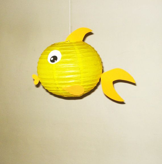 17 best ideas about paper lantern decorations on pinterest for Fish paper lanterns