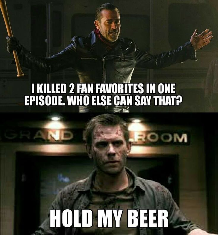 Lucifer is definitely more badass than Negan