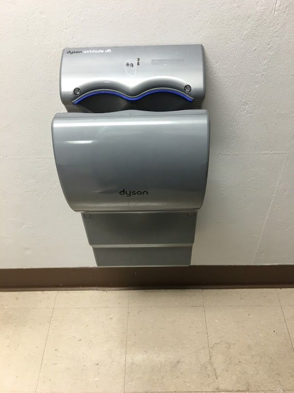 Installed Two New Dyson Electric Hand Dryers Commercial
