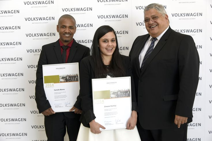 Volkswagen South Africa trainees honoured in Germany