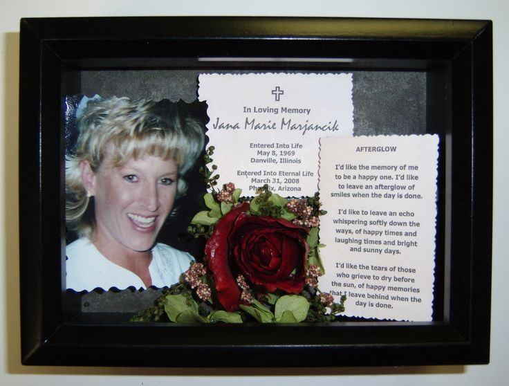 1000 images about funeral and memorial flowers and tributes memory shadow boxes on pinterest. Black Bedroom Furniture Sets. Home Design Ideas