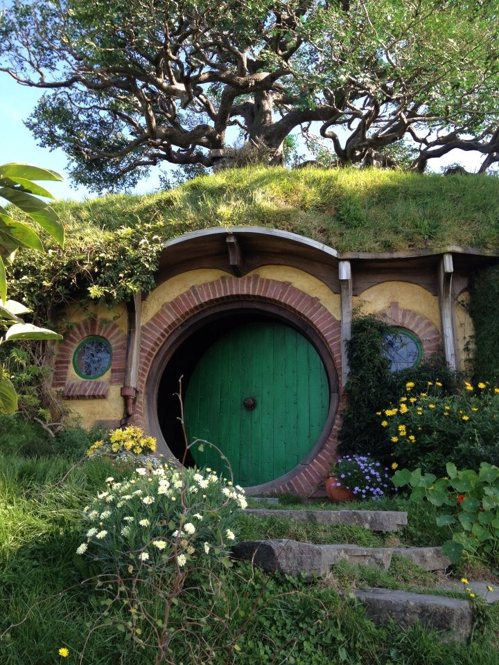 Matamata, New Zealand, My pic from May 2012 of Lord of the Rings out door movie set.  This is going to be Hobbit's house  for 'The Hobbit' movies due out Dec. 2012 & 2013!