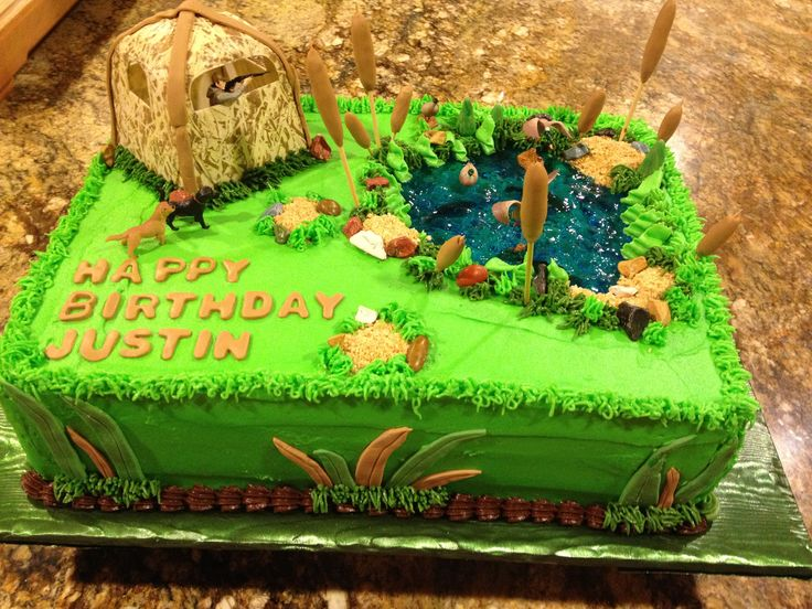Duck hunting birthday cake Party Ideas Pinterest ...