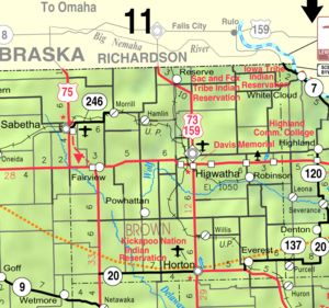Brown County, Kansas - Wikipedia, the free encyclopedia