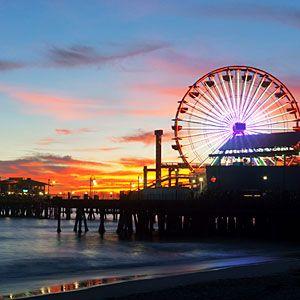 Santa Monica, CA – One of the best places to launch a career. Bonito atardecer que Lucia disfrutara con alguien especial