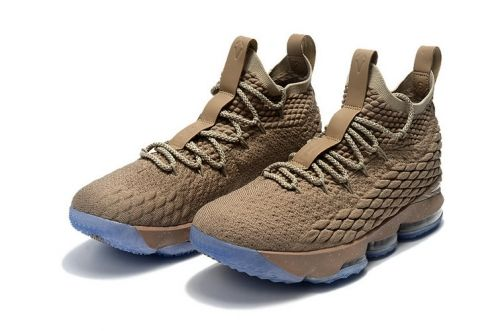 1887af5f0be 2019 的 Fashion Nike LeBron 15 Ghost String Sail-Vachetta Tan 897648 ...