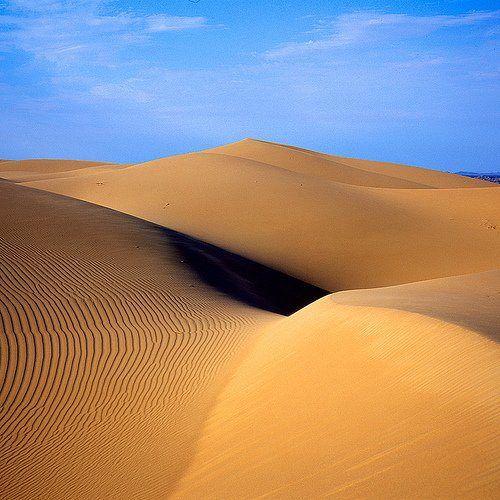 ¿Desierto del Sahara? No, es el  desierto del Sahara es el  Gran desierto de Altar, Sonora.
