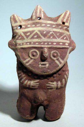 A Fine Chancay Figure From Peru