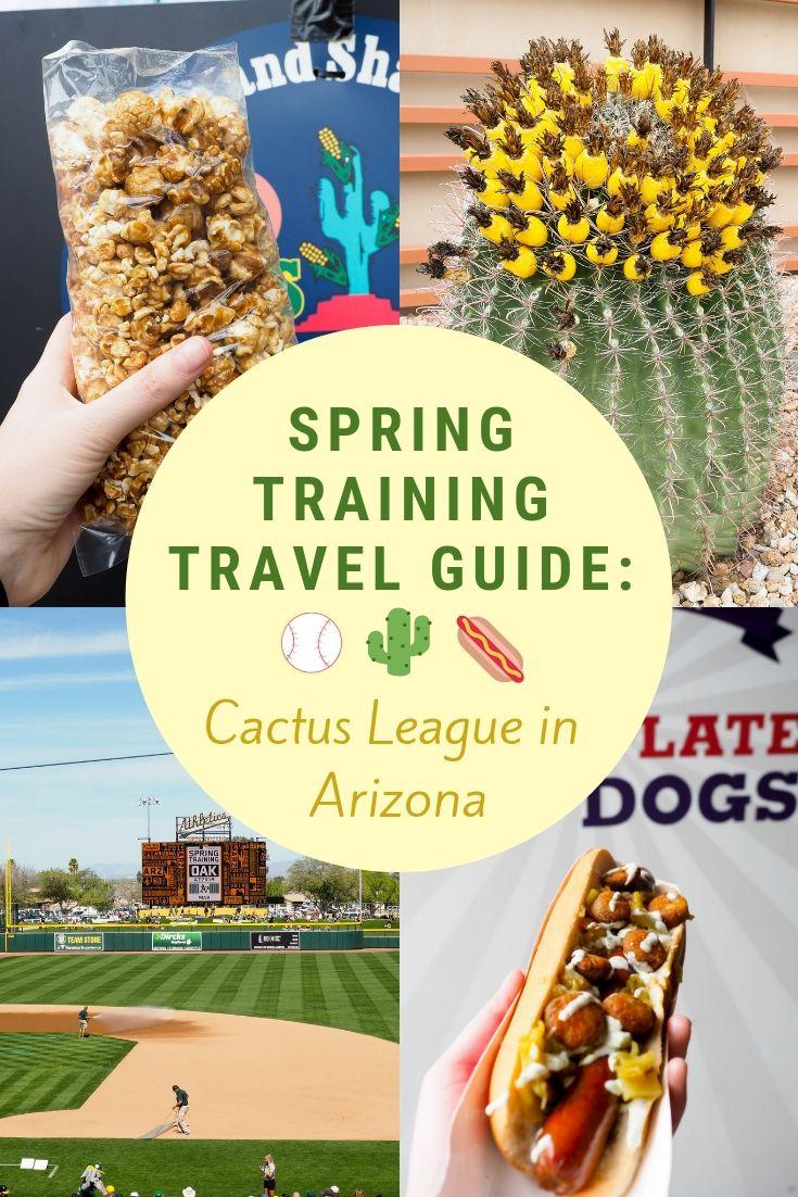 Arizona Spring Training Travel Guide Spring Training Spring Training Arizona Arizona Food