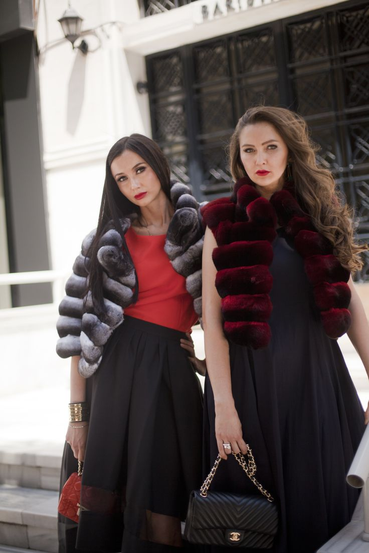 Chinchilla is ultimate luxury outwear, shop the most amazing ones at #ADAMOFUR