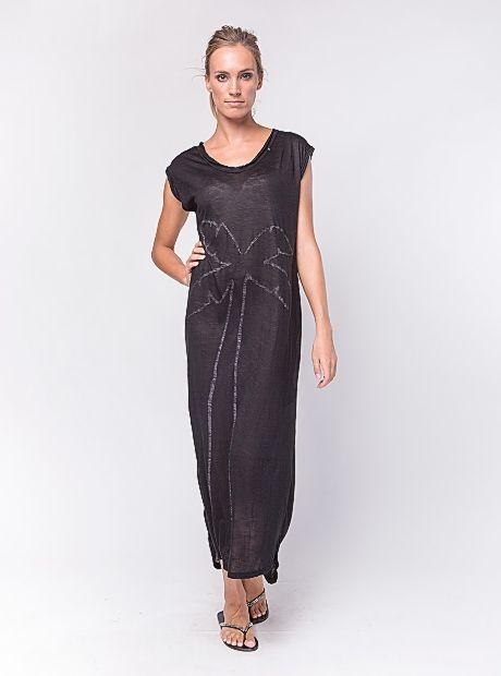 Dove Dress / Black | #BuddhaWear  $69.90 AUD  #ethical #fashion #womenswear #resortwear #summer #ss16
