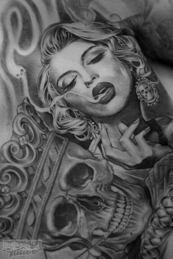 brown pride tattoos xoxo chicano art pinterest female portrait nice and brown. Black Bedroom Furniture Sets. Home Design Ideas