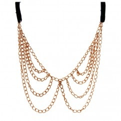 Chain Collar - #tasarim #tarz #altin #rengi #moda #nishmoda #gold #colored #design #designer #fashion #trend