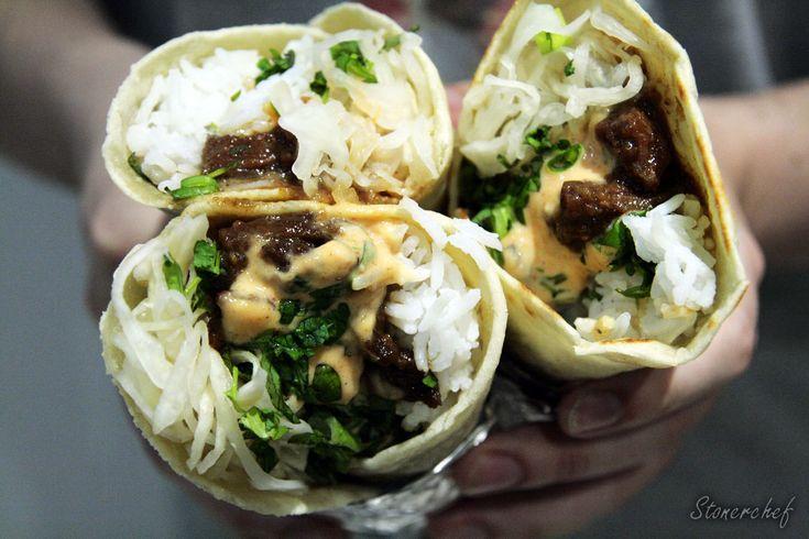 Grażyny w Seulu: Koreańskie burrito z kiszoną kapustą i świeżymi ziołami