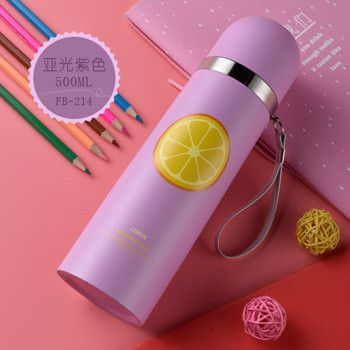 Selling Thermos Water Bottle 500ml Garrafa Stainless Steel Termica Inox Travel Cup Copo Termico Mug Caneca Termica Caixa Thermos