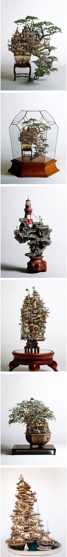 Bonsai Tree Houses