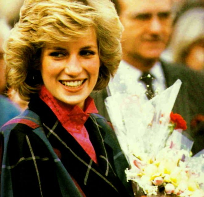 February 5, 1985: Princess Diana at the headquarters of Dr Barnado in Barkingside, Essex.